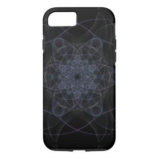 Black Kaleidoscope Design iPhone 8/7 Case