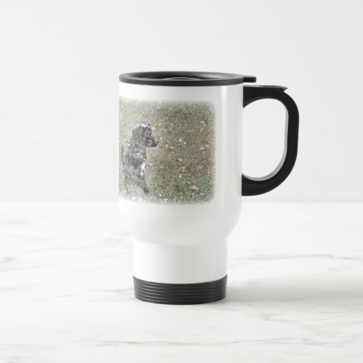 Black Lab Dog Waits Apparel Mugs