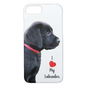 Black Lab - Dressed in Red Case-Mate iPhone Case