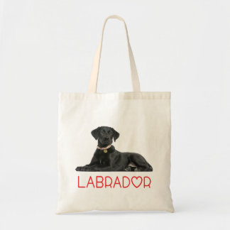 Black Labrador Retriever Puppy Dog - Black Lab Tote Bag