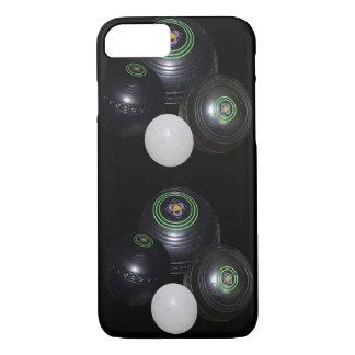 Black_Lawn_Bowls_iPhone_Seven_Case iPhone 7 Case