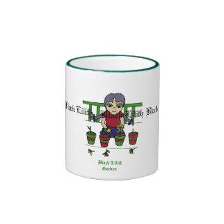 Black Lilith garden's Ringer Mug