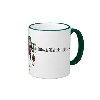 Black Lilith garden's Mugs