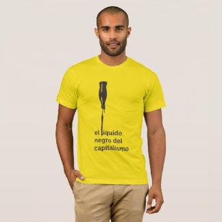Black liquid El del Capitalism (Masculine) T-Shirt