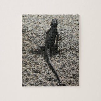 Black Lizard Jigsaw Puzzle