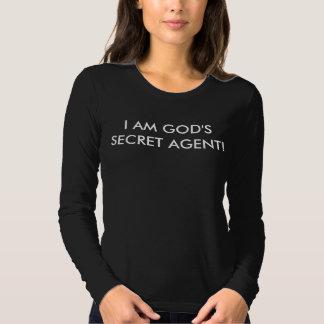 Black long sleeve t-shirt declaring I Am