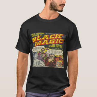 Black Magic Vintage Comic Book Cover - Dark T-Shirt