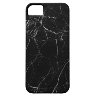 Black Marble Texture iPhone 5 Cases