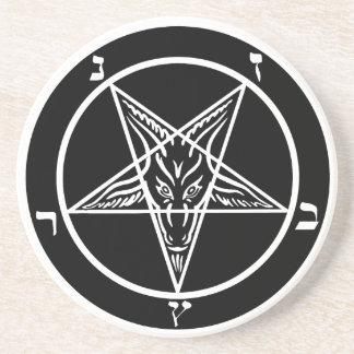 Black metal coaster SATAN!