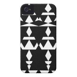 Black Minimal Tribal iPhone 4 Cover