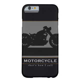 black motorcycle barely there iPhone 6 case