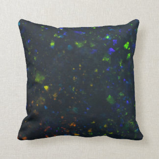 Black Opal Throw Pillow