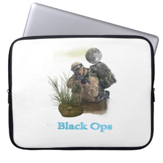 Black ops military designs laptop computer sleeves