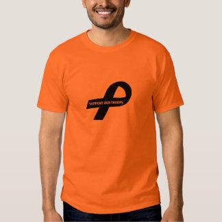 Black/orange Shirt