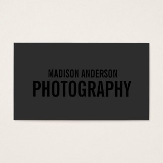 Black Out Photography   Business Cards
