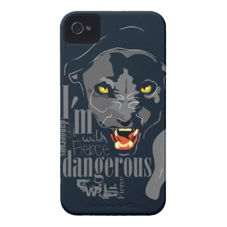 Black panther iPhone 4 case