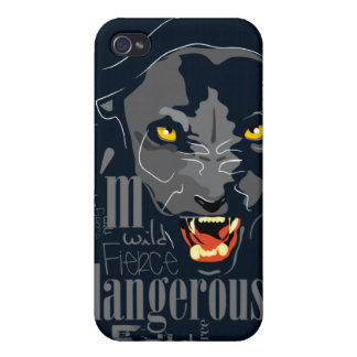 Black panther iPhone case iPhone 4 Covers