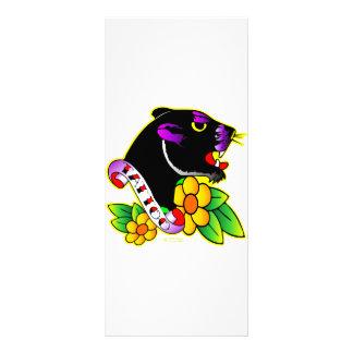 Black Panther Tattoo Rack Card