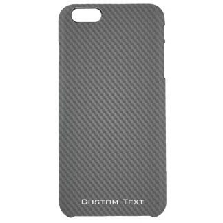 Black para-aramid synthetic Texture Clear iPhone 6 Plus Case