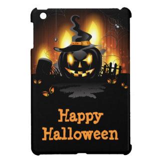 Black Pumpkin Halloween iPad Mini Case