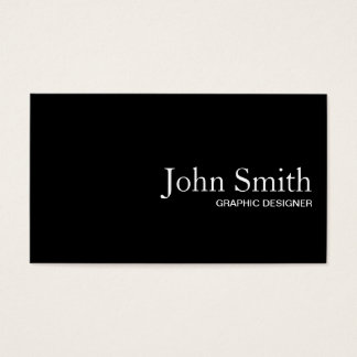 Black QR Code Graphic Design Business Card