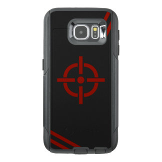 Black & Red Target Phone Case