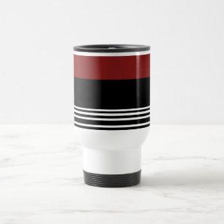 Black Red White>CoffeeTravel Mug