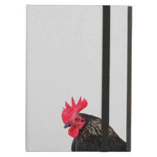 Black Rooster iPad Air Cover