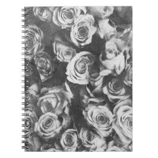 Black roses notebooks
