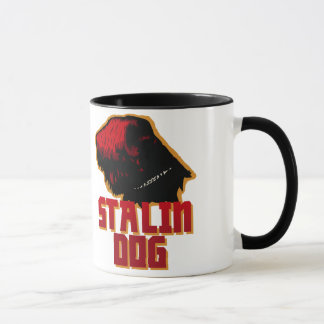 Black Russian Terrier Stalin Dog Pet Mug Gift