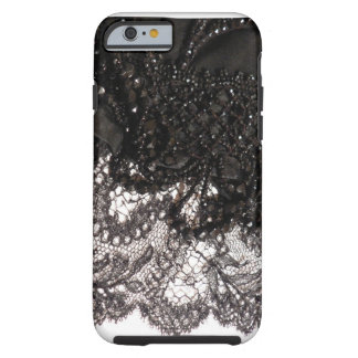 Black Satin & Lace iPhone 6 case!