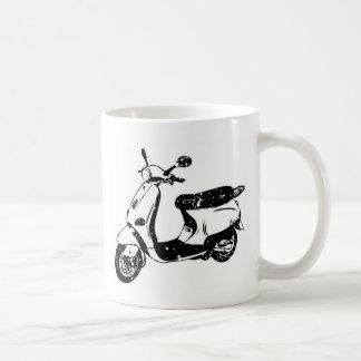 Black Scooter Coffee Mug