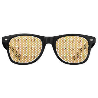 Black Shades with Gold Rivet Glass.