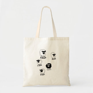 Black Sheep go shopping ! Tote Bag