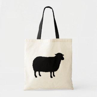 Black Sheep Silhouette Tote Bag