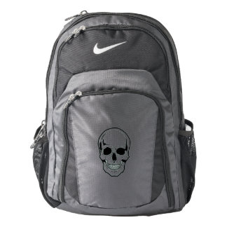 Black Skull Laughter Backpack