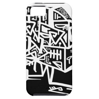 Black Space mask iPhone 5 Cover