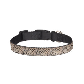 black spotted Cheetah fur or Skin Texture Template Dog Collars
