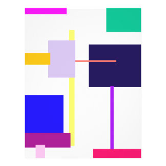 Black Square Full Color Flyer