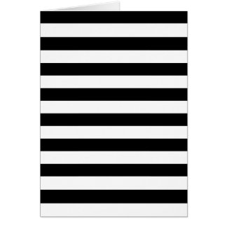 Black Stripes Card