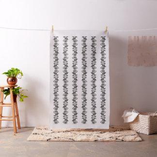 BLACK TATTOO TRIBAL II + your background Fabric