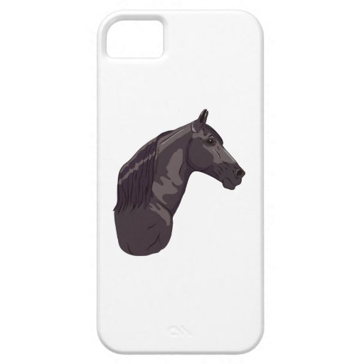 Black Tennessee Walking Horse iPhone 5 Cases