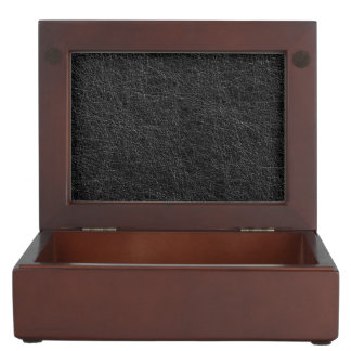Black texture keepsake box