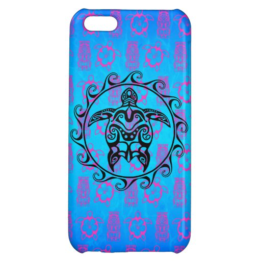 polynesian tribal tattoo design with tiki mask iphone cases MEMEs