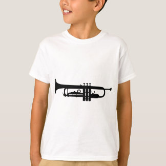 black trumpet icon T-Shirt