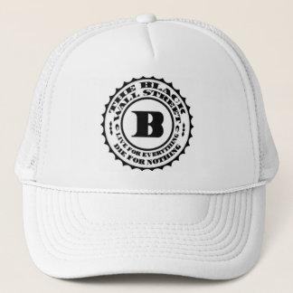 Black-Wall-Street Trucker Hat