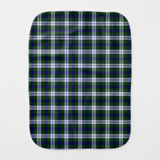 Black Watch Fashion Tartan Baby Burp Cloth