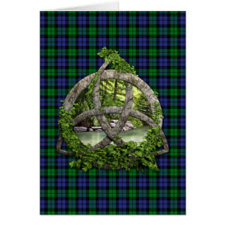 Black Watch Military Celtic Trinity Knot Card