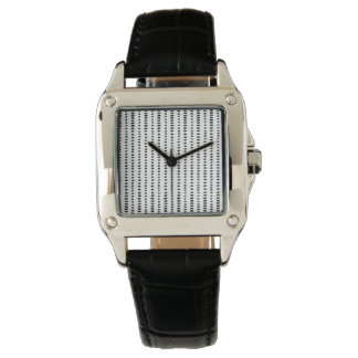 Black & White Abstract Pattern Women's Watch