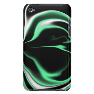 Black White and Light Green Case-Mate iPod Touch Case